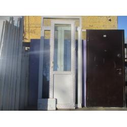 Дверь Пластиковая 2290 (в) х 660 (ш) Б/У