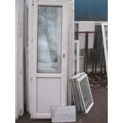 Дверь пластиковая 2300х670 (1)