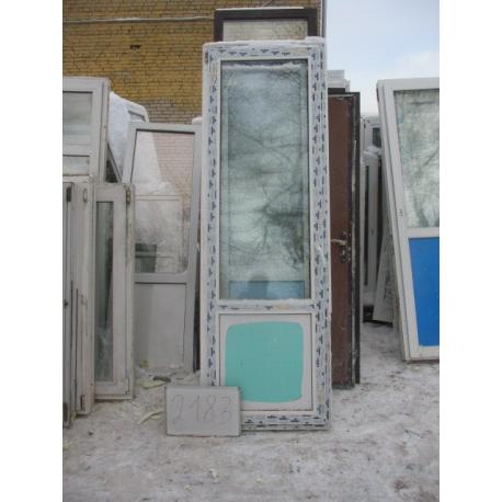 Дверь пластиковая 2360х770 (1)
