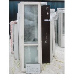 Дверь пластиковая 2200х660 (1)