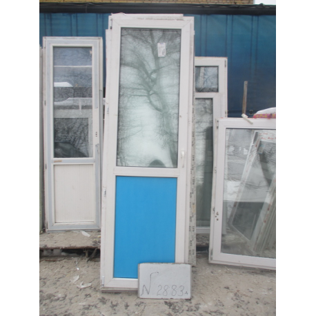 Дверь пластиковая 2350х740 (1)