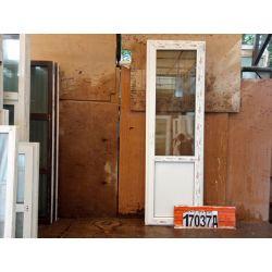 Пластиковые Двери 2100(в) х 670(ш) Балконные REHAU